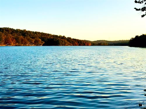 Lakefront Land in Hardy, Arkansas : Hardy : Sharp County : Arkansas