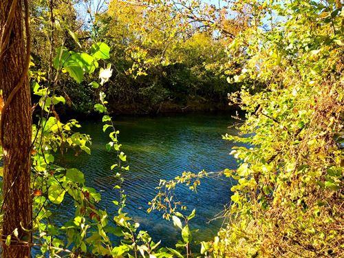 Fulton County AR Riverfront Acreage : Mammoth Spring : Fulton County : Arkansas
