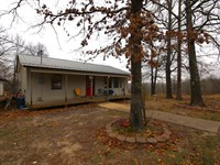 Home Acreage Spring River Arkansas : Mammoth Spring : Fulton County : Arkansas