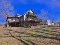 Home For Sale on Spring River : Mammoth Spring : Fulton County : Arkansas