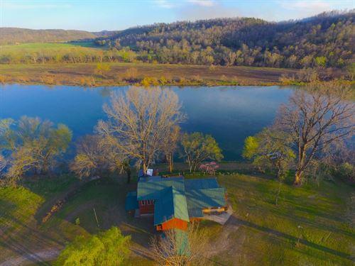 River House White River Norfork, AR : Norfork : Baxter County : Arkansas