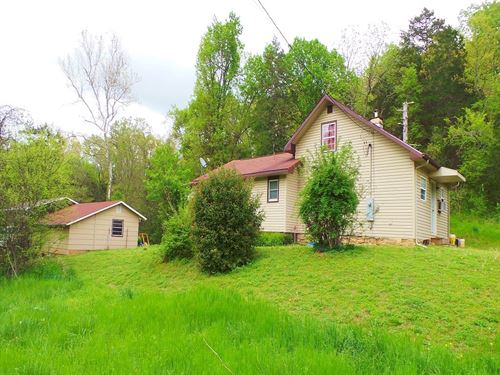 Country Home With Large Spring : Yellville : Marion County : Arkansas