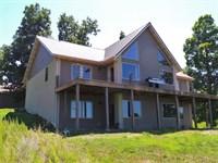 Big Home, Big Deck, Big Lake : Yellville : Marion County : Arkansas