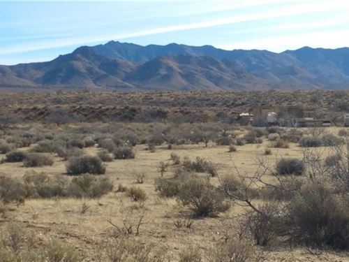 3.21 Acres Mining Town Chloride : Chloride : Mohave County : Arizona