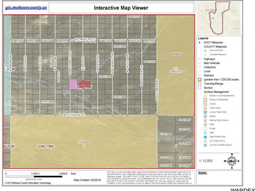 Dolan Springs Land For Sale : Dolan Springs : Mohave County : Arizona