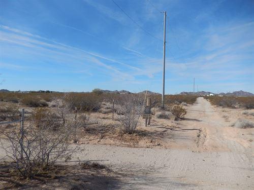 5 Acres in Salome, Arizona : Salome : La Paz County : Arizona