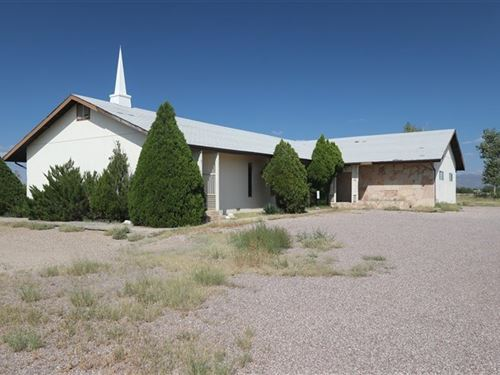 Church Building 5 Acres Located : Benson : Cochise County : Arizona