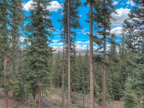 Log Cabin Acreage Mountain Home CO : Fairplay : Park County : Colorado