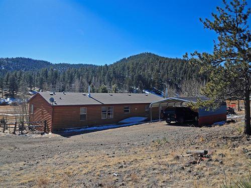 Florissant Rural Home, Spring Fed : Florissant : Park County : Colorado