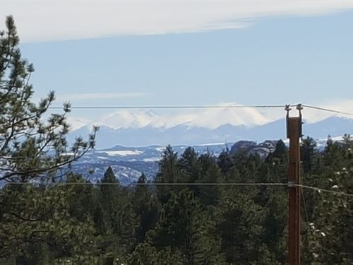 Mountain Lot in Florissant Colorado : Florissant : Teller County : Colorado
