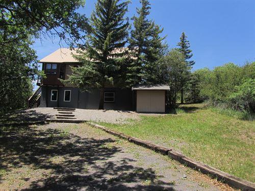 Cabin Property Near Lake Colorado : Collbran : Mesa County : Colorado
