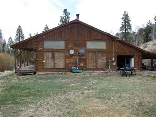 Log Home Creek South Central : Del Norte : Rio Grande County : Colorado