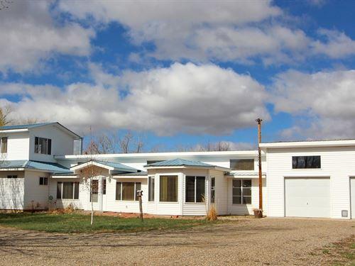 Waterfront House 5.14 Acres, Mancos : Mancos : Montezuma County : Colorado