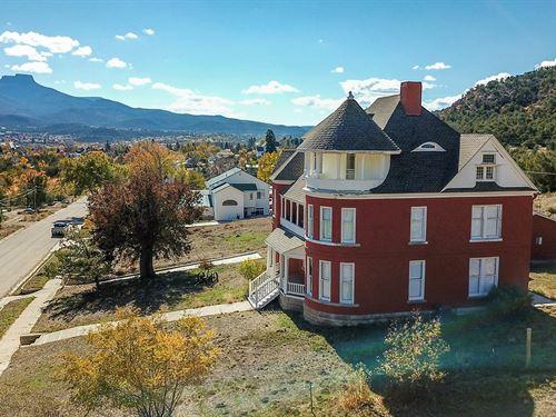Historic Brick Victorian Mansion : Trinidad : Las Animas County : Colorado
