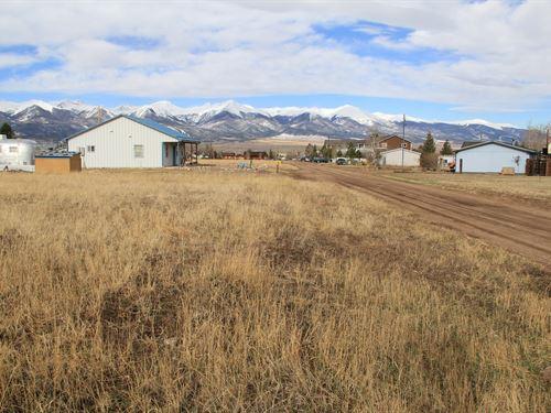 CO Mountain Building Lots Wet : Westcliffe : Custer County : Colorado