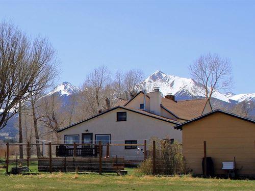 Farmhouse in Westcliffe Colorado : Westcliffe : Custer County : Colorado