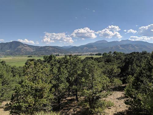 Sangre De Cristo Range Mountain : Salida : Chaffee County : Colorado