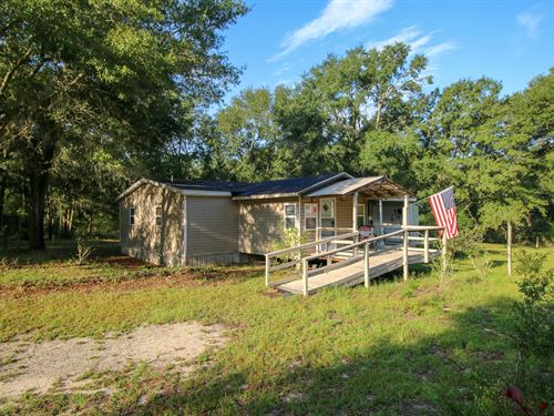 Country Living, 3Br/2Ba Mobile Home : Bell : Gilchrist County : Florida