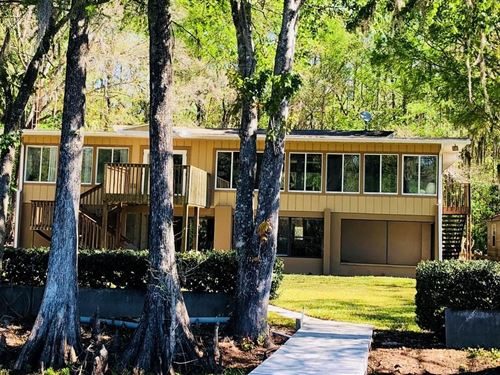 Two Story Riverfront Home Suwannee : Chiefland : Levy County : Florida