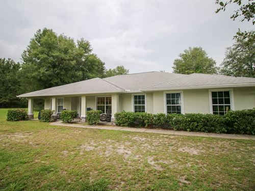 Beautiful Country Home, High : High Springs : Gilchrist County : Florida