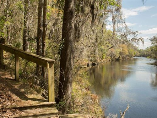 Beautiful North Florida Riverfront : Jennings : Hamilton County : Florida