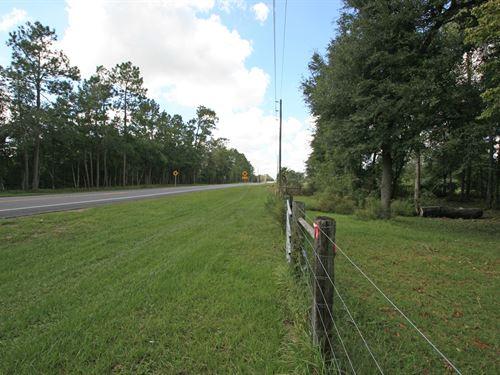 Vacant Lot In North Florida : Lake City : Columbia County : Florida