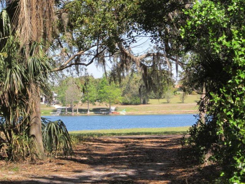 Waterfront Large Wooded Lot : Lake Wales : Polk County : Florida