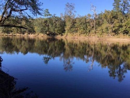 4.67 Acres on Suwannee River : Mayo : Lafayette County : Florida