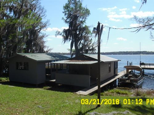 Lake Property on Cherry Lake in FL : Pinetta : Madison County : Florida
