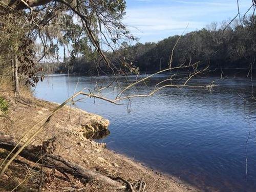 North Florida River Land, No Deed : O'brien : Suwannee County : Florida