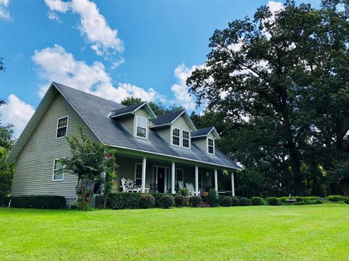 Rustic Country Home, 9+ Acres : Trenton : Gilchrist County : Florida