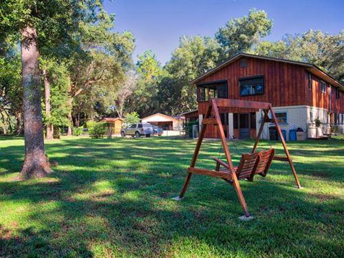 Large Home Pool, Trenton Levy : Trenton : Levy County : Florida