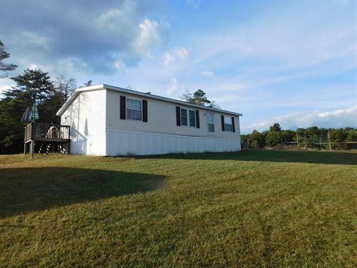 Flintstone, MD Home And Acreage : Flintstone : Allegany County : Maryland
