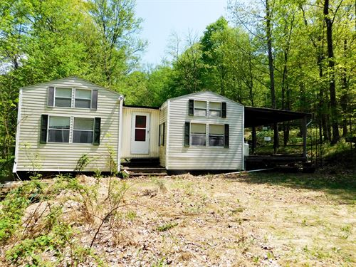 6.65 Acres in Western MD : Oldtown : Allegany County : Maryland