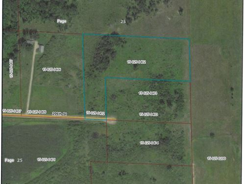 Milaca MN Buildable Land For Sale : Milaca : Mille Lacs County : Minnesota