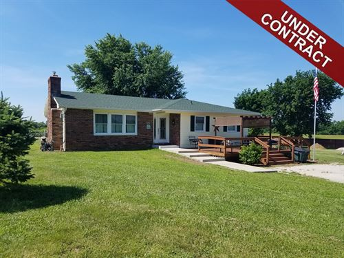 Turn-Key Ranch Home Acreage : El Dorado Springs : Cedar County : Missouri
