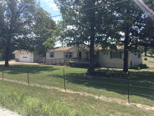 Country Home, 1 Acre M/L : Gainesville : Ozark County : Missouri