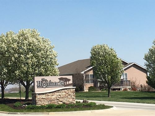 Townhome Building Lots, Country : Maryville : Nodaway County : Missouri