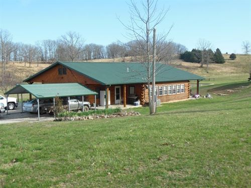 Beautiful 2-3 Bedroom Log Home 5 : Willow Springs : Howell County : Missouri