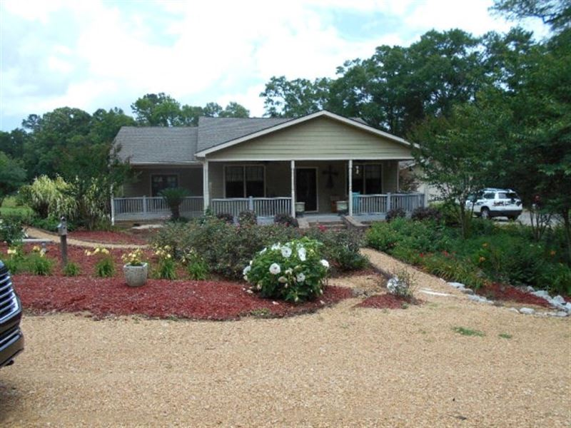 Home 52.4 Acres Franklin County : Meadville : Franklin County : Mississippi