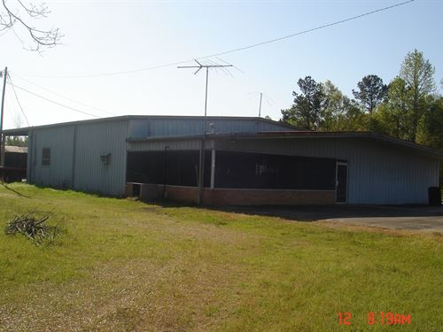 Commercial Building 9 Acres Winston : Louisville : Winston County : Mississippi
