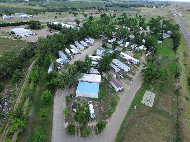 Glendive Montana Mobile Home, RV : Glendive : Dawson County : Montana