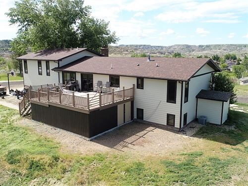 Million Dollar View, Home 3+ Acres : Glendive : Dawson County : Montana