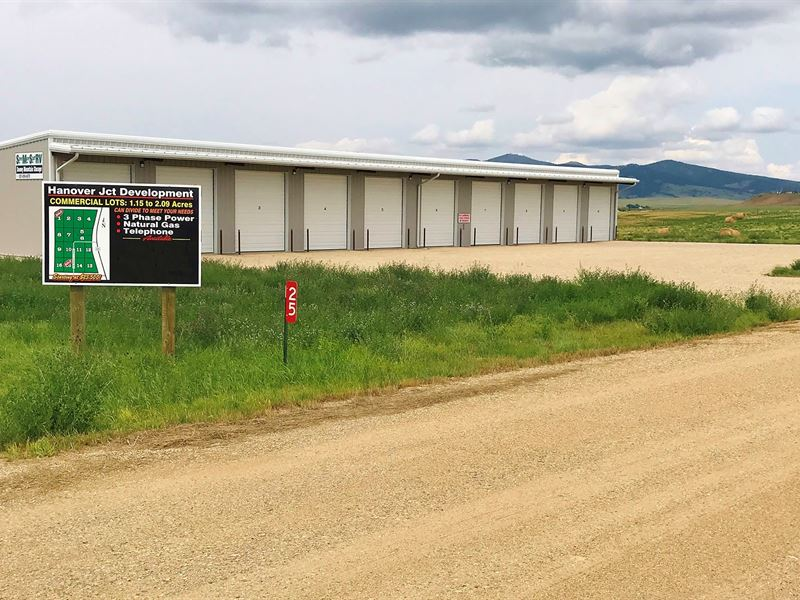 Lewistown MT Commercial Land Lot : Lewistown : Fergus County : Montana