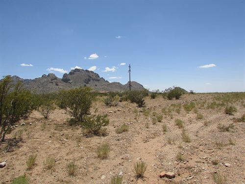 1 Acres Base Florida Mountains Just : Deming : Luna County : New Mexico