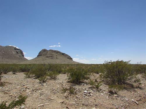 1.5 Acres Base Florida Mountains : Deming : Luna County : New Mexico