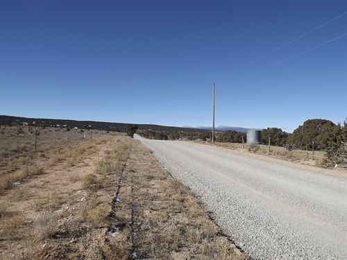 Residential 10 Ac Lot, Water Access : Edgewood : Santa Fe County : New Mexico