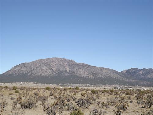 10 Acres Vacant Land Horse Property : Edgewood : Santa Fe County : New Mexico