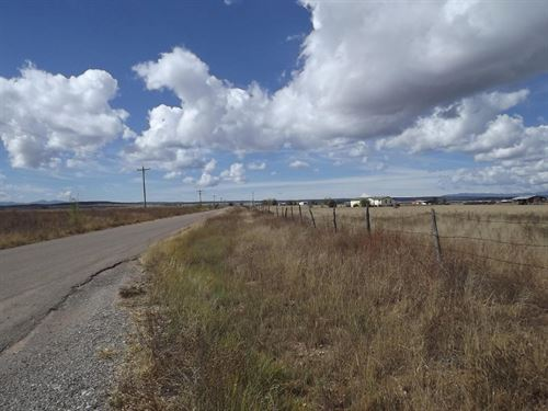 New Mexico Country Home Lot 2.28 Ac : Moriarty : Torrance County : New Mexico