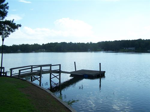Lake Wateree Sc Point Lot Big Water : Winnsboro : Fairfield County : South Carolina